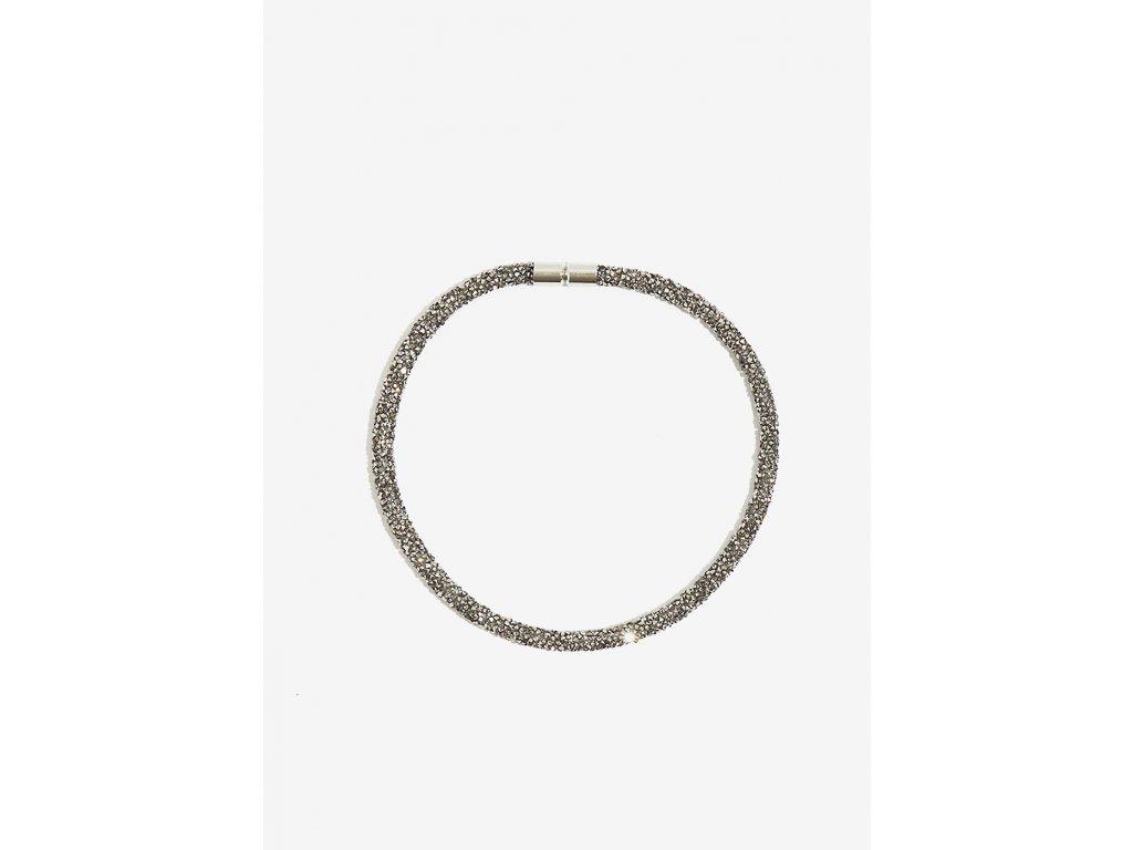 Třpytivý náhrdelník NALÍ CRISTALLI stříbrný