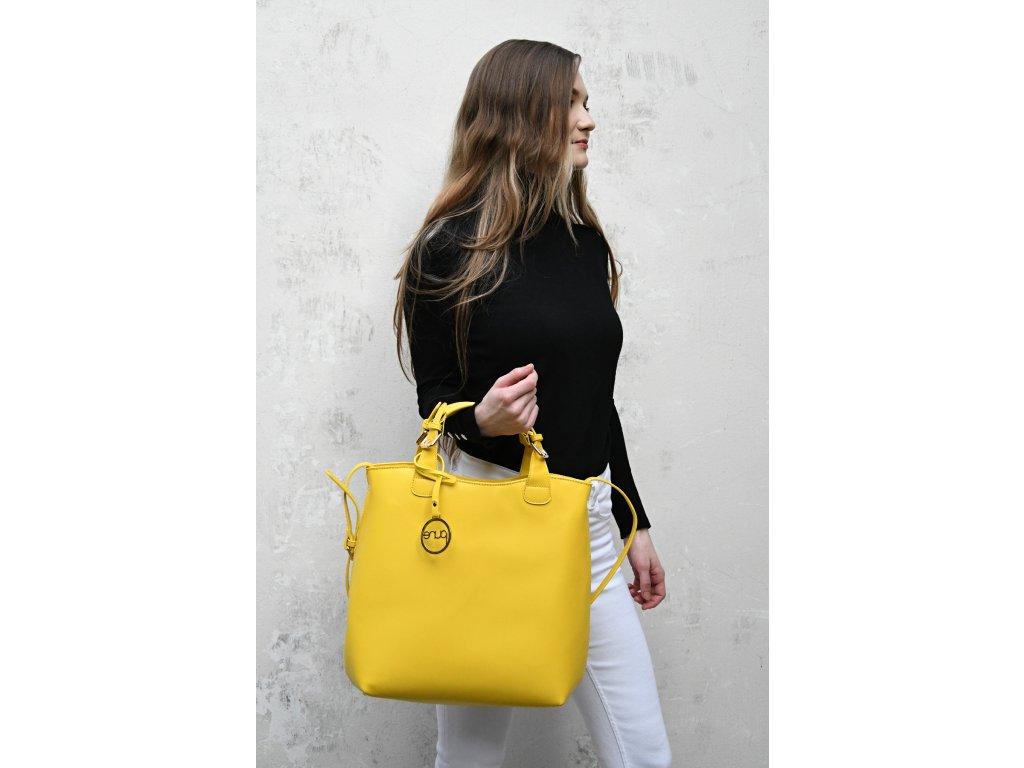 Citronově žlutá kabelka PURE LONDON