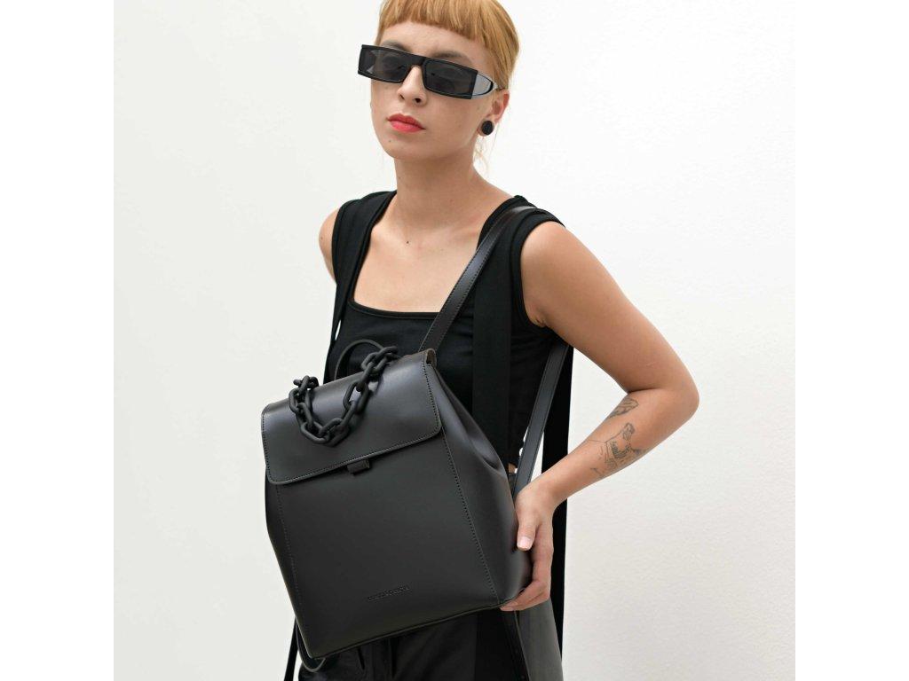 Černý batoh Claudia Canova Sophia