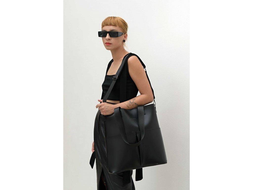 Černá kabelka Claudia Canova Twin