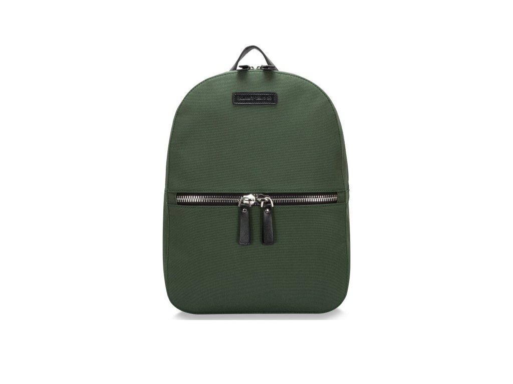Zelený batoh Smith & Canova Joseph