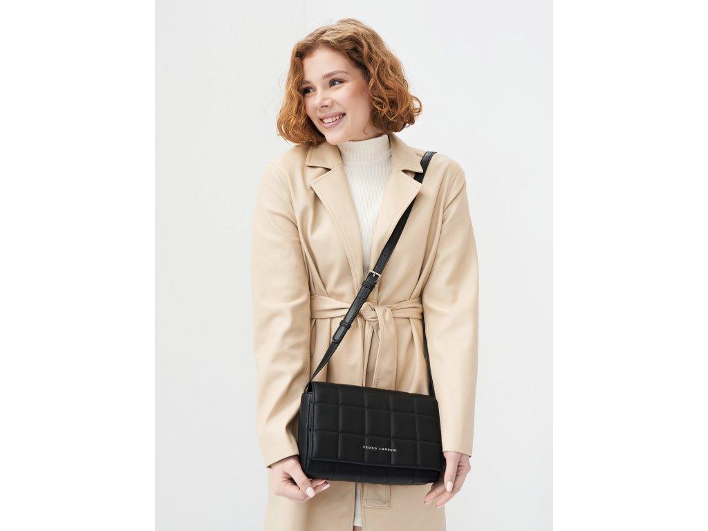 Malá černá kabelka Keddo London