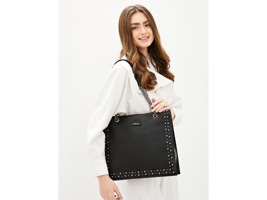 Černá kabelka Betsy London