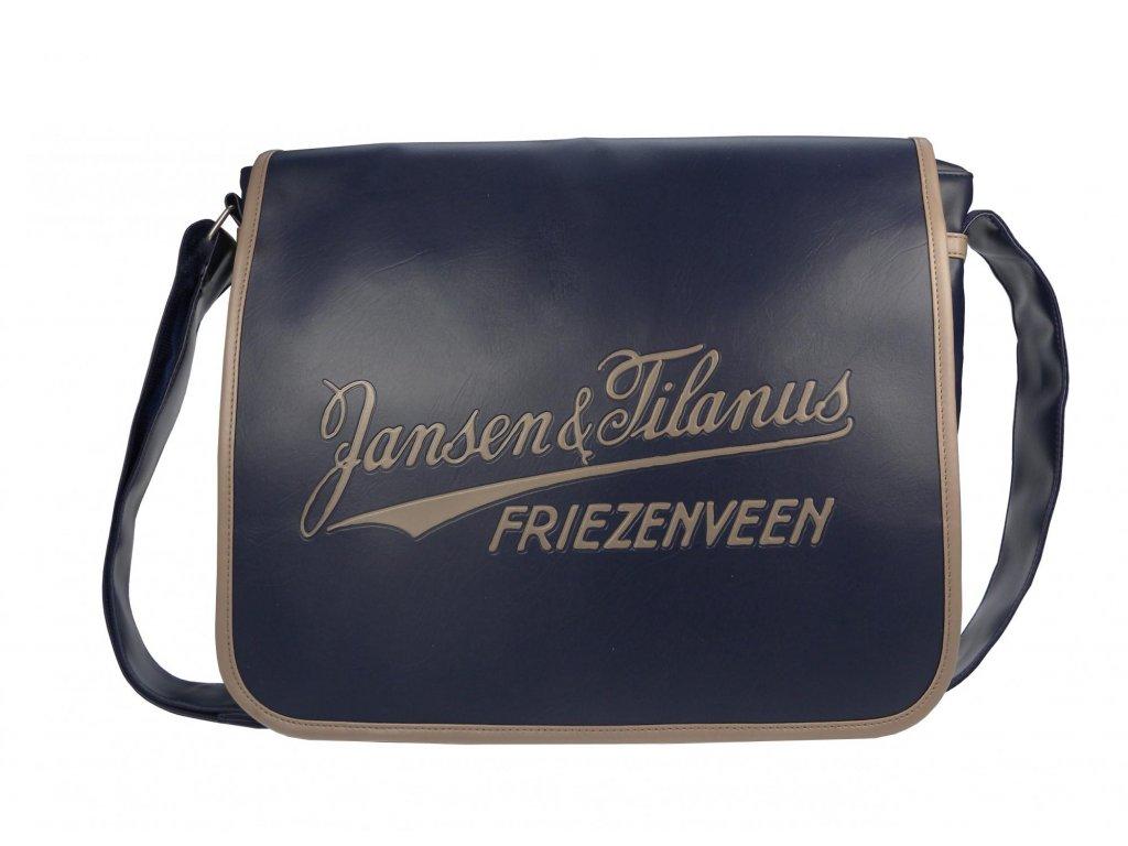 Tmavě modrá pánská taška Jansen & Tilanus