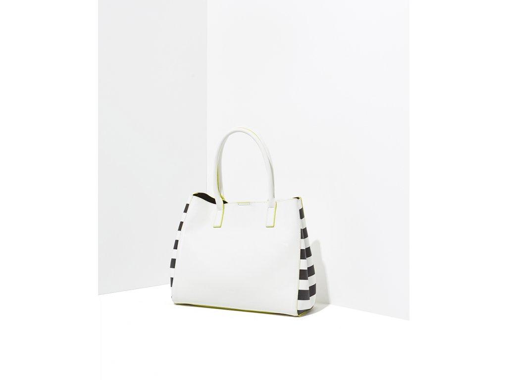 Velká bílá kabelka NALÍ