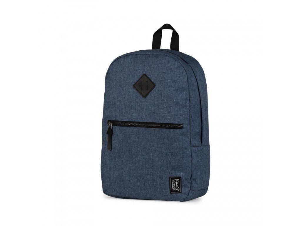 Modro-šedý batoh THE PACK SOCIETY