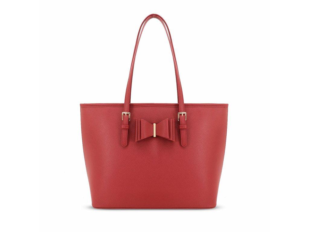Tmavě červená kabelka LYDC London