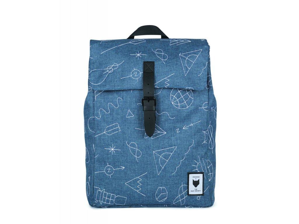 Modrý batoh THE PACK SOCIETY XSQUARE
