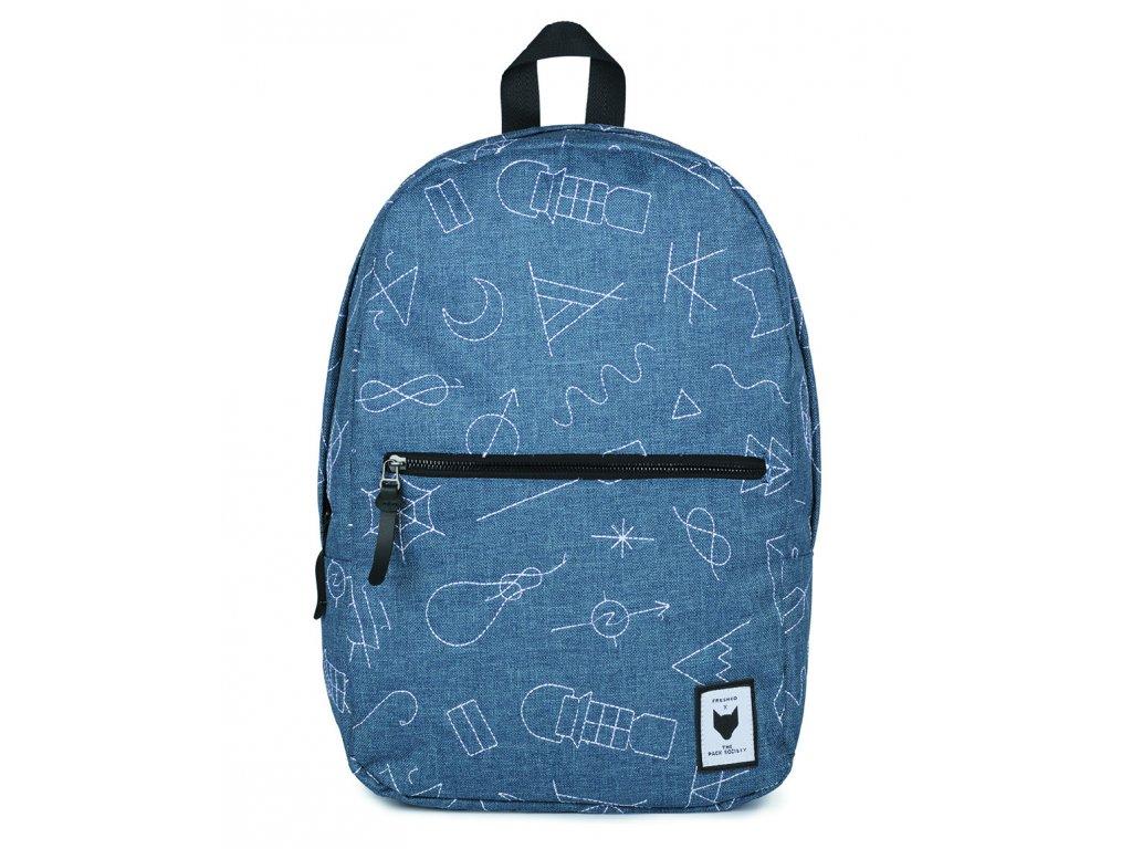 Modrý batoh THE PACK SOCIETY Classic COLAB