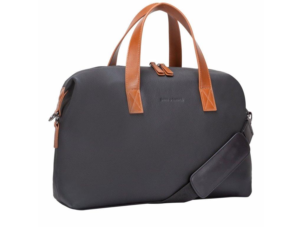 Kožená taška Smith & Canova Ryan