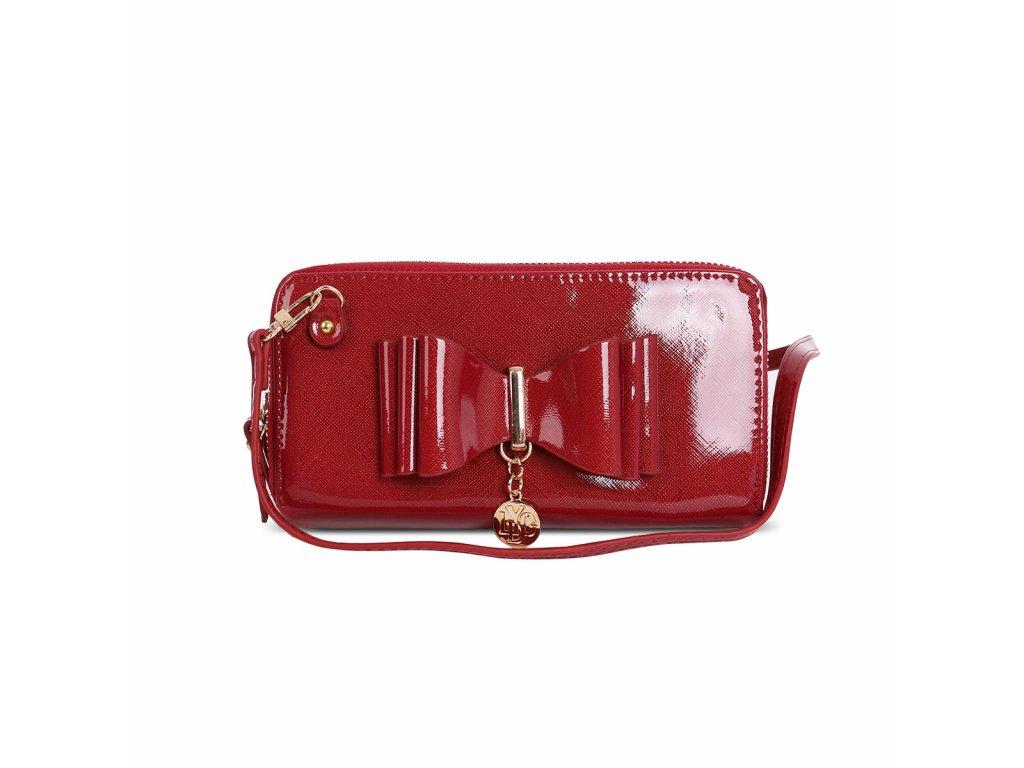 Lakovaná červená peněženka LYDC London Rachel