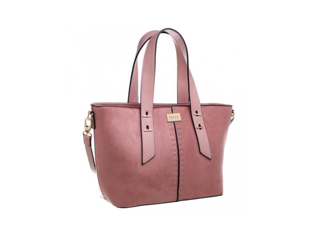 Růžová kabelka Bessie London Sunly