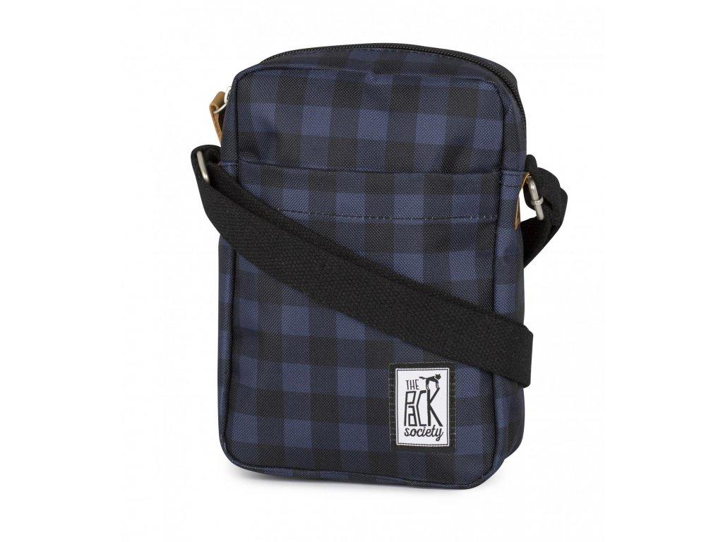 Malá modro-černá taška THE PACK SOCIETY