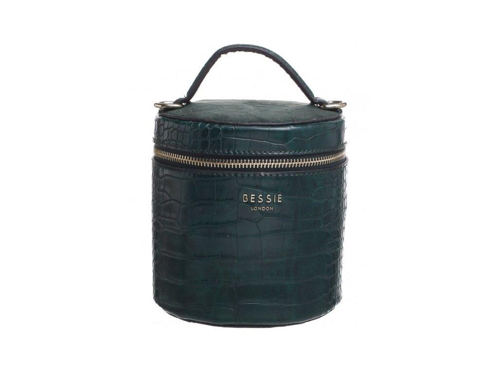 Lahvově zelená kabelka Bessie London Nesia