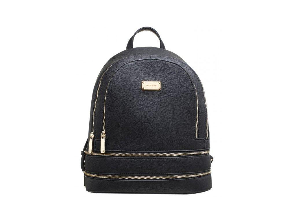 Černý batoh Bessie London Gemma