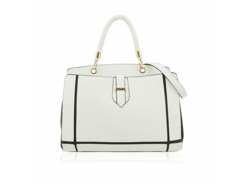 Bílo-černá kabelka DSUK Teme