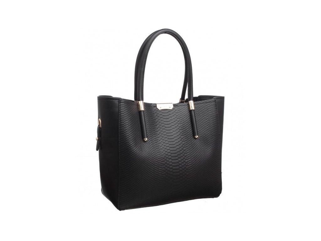 Velká černá kabelka Bessie London