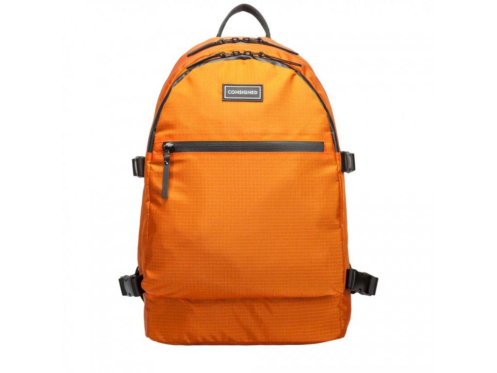 Oranžový batoh CONSIGNED BARTON
