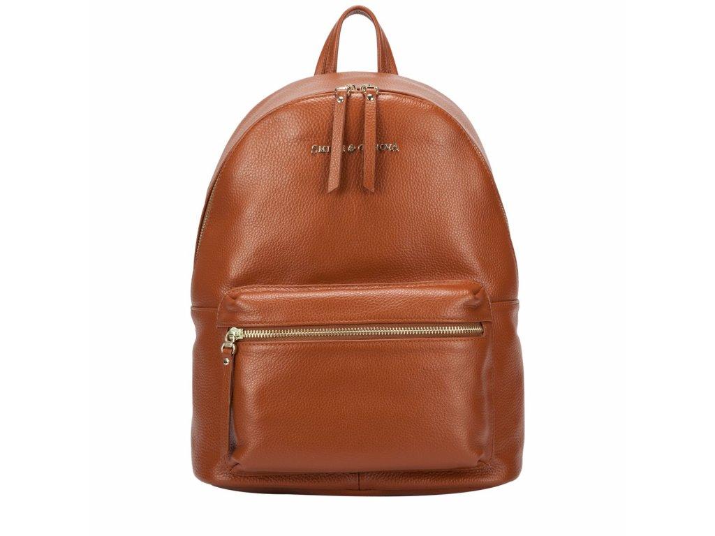Kožený batoh Smith & Canova Marnie
