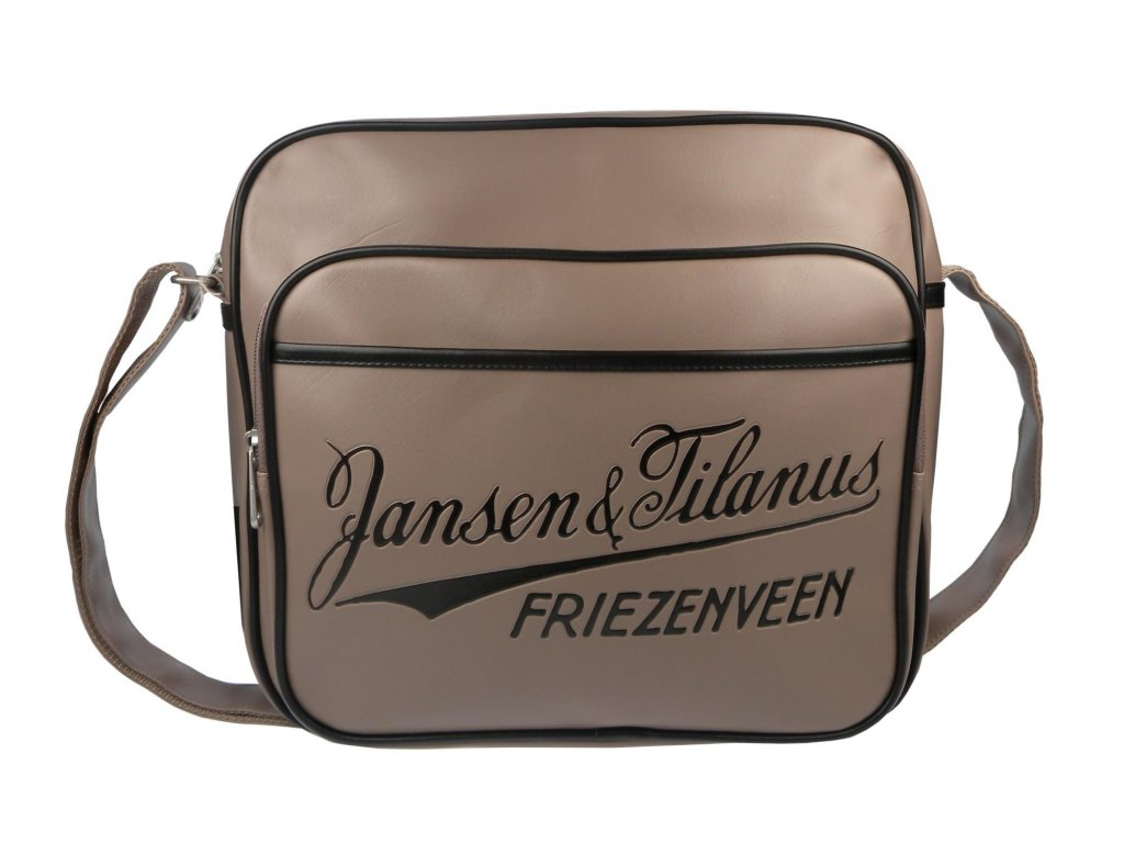 Písková pánská taška Jansen & Tilanus
