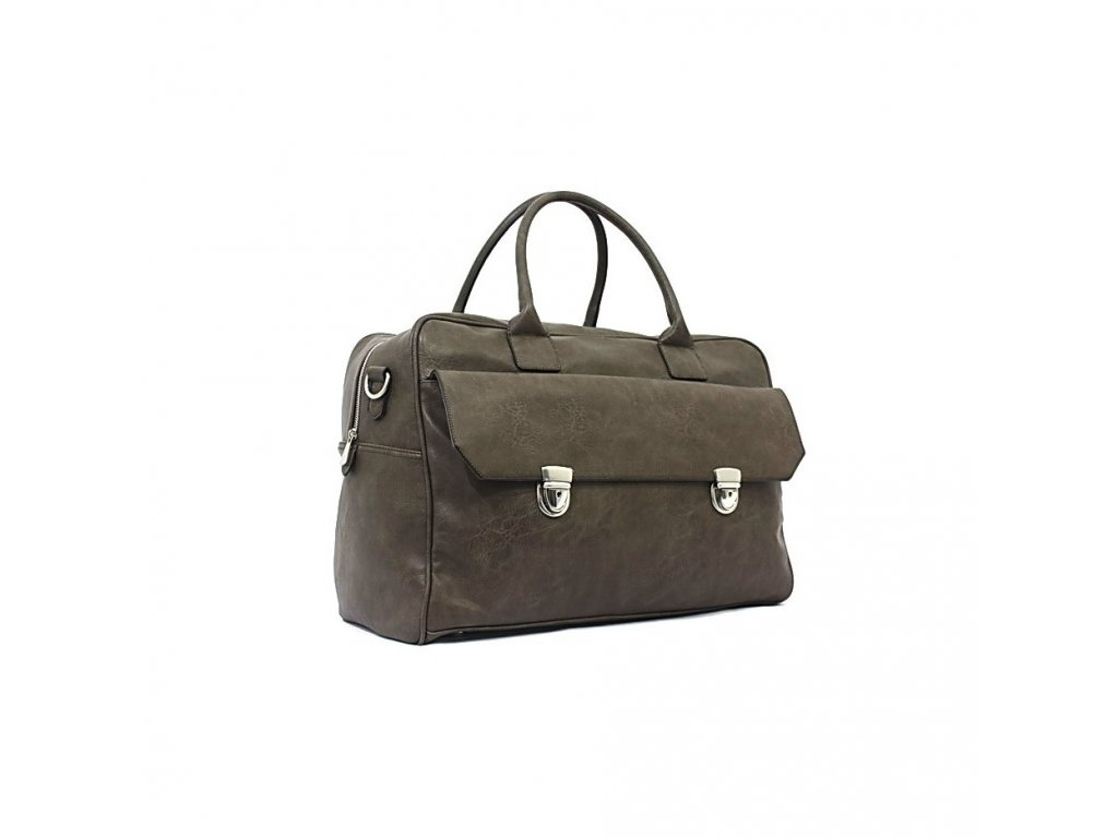 Cestovní taška Bobby Black Retro