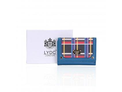 Modrá peněženka LYDC London
