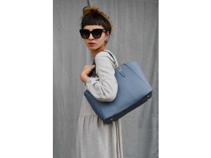 Modrá kabelka Bessie London