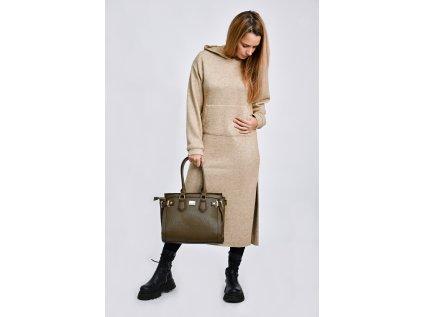 Olivová kabelka Bessie London Shaylee
