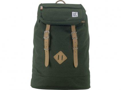 Lahvově zelený batoh THE PACK SOCIETY PREMIUM