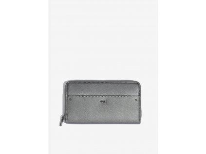 Velká šedo-stříbrná peněženka Nalí