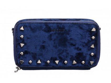 Modrá peněženka Bessie London Vivienne