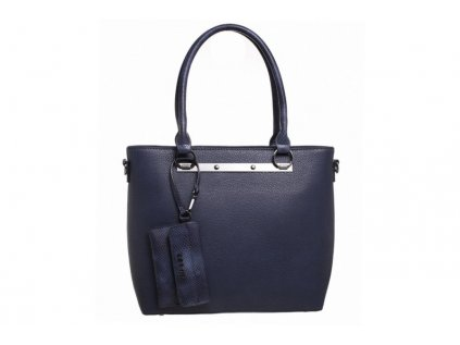 Tmavě modrá kabelka Bessie London Esme