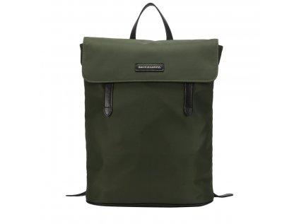 Zelený batoh Smith & Canova Ama