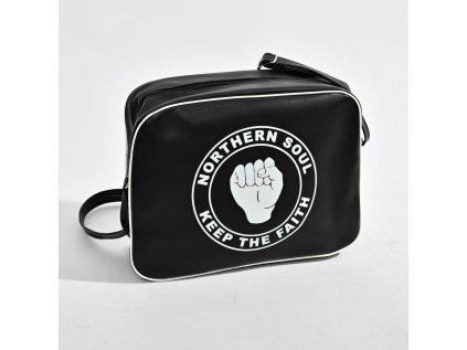 Černá taška NORTHERN SOUL
