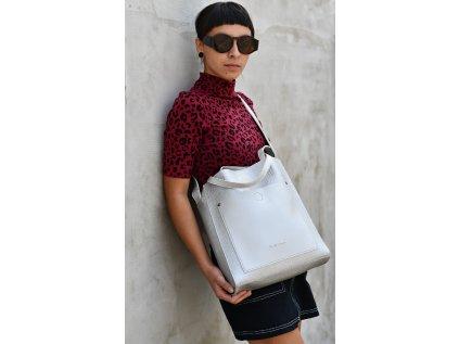 Stříbrná kabelka Claudia Canova Nadia