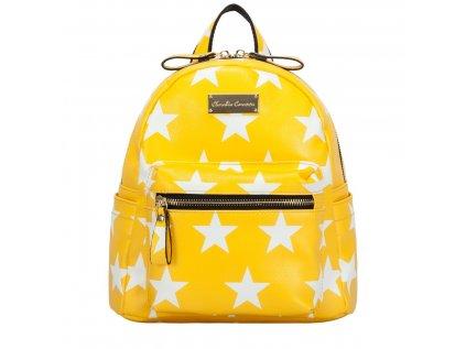 Žlutý batoh Claudia Canova Starlight