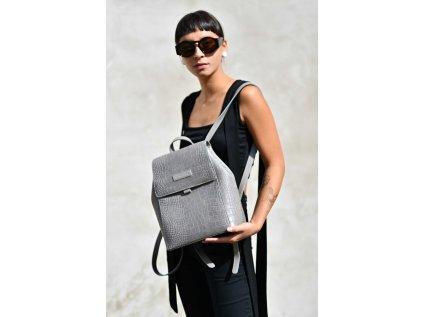 Šedý batoh Claudia Canova Beth