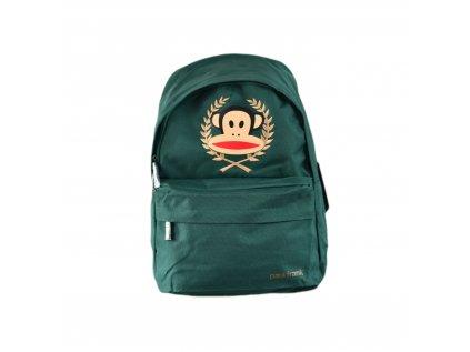 Zelený batoh Paul Frank