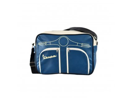Velká, modrá taška VESPA
