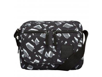 Černo-šedá taška přes rameno ARTSAC
