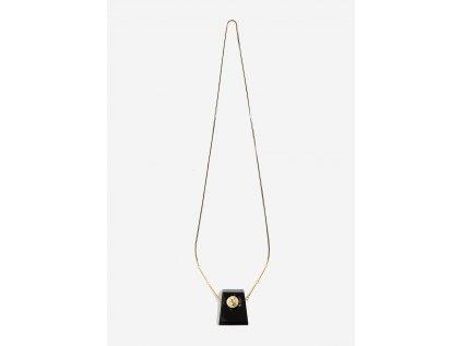 Dlouhý náhrdelník NALÍ černý