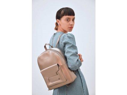 Metalický batoh Claudia Canova Senta