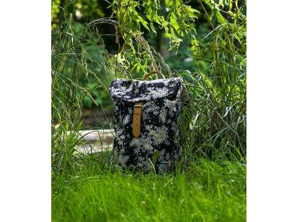 Černý recyklovaný batoh THE PACK SOCIETY Elder
