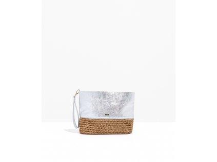 Stříbrná kabelka Nalí Paglia