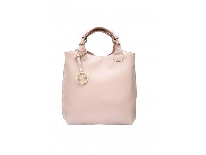 Pudrově růžová kabelka PURE LONDON Gold