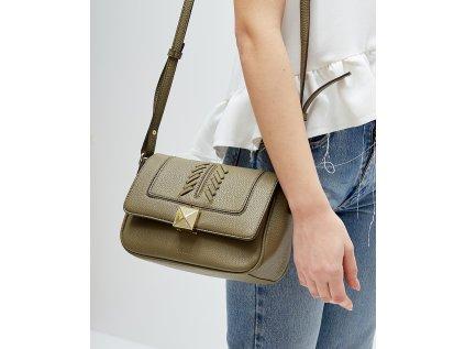 Menší olivově zelená kabelka NALÍ Stefania