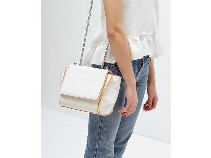 Velká bílá kabelka NALÍ Caterina