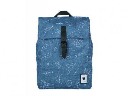 Modrý batoh THE PACK SOCIETY XSQUARE COLAB