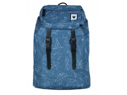 Modrý batoh THE PACK SOCIETY COLAB