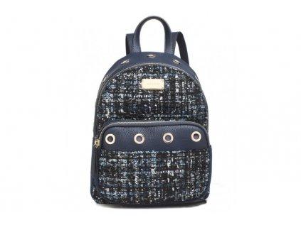 Tmavě modrý batoh Bessie London